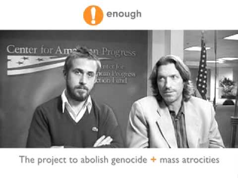 ENOUGH! Ryan Gosling & John Prendergast on Northern Uganda