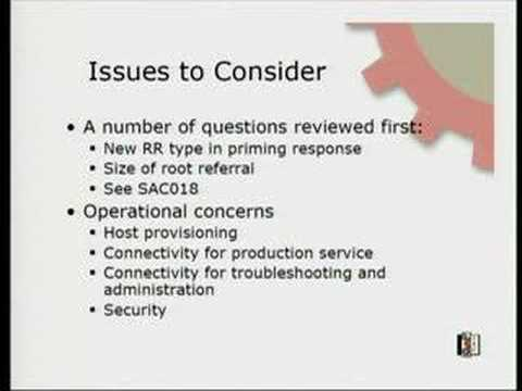 Google IPv6 Conference 2008: IPv6 and the DNS