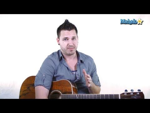 How to Play A Major / C Sharp on Guitar
