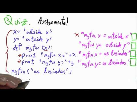 Creating An Environment Solution - CS262 Unit 5 - Udacity