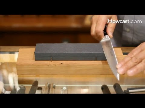 All about Knives: How to Use a Sharpening Stone