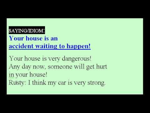 Learn English Idioms Lesson #18