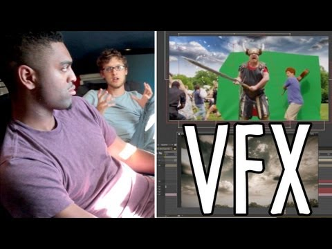 "VFX Artist from ""The Avengers""! Awesome Directors Project"