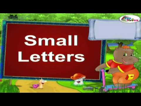Small Letters Learn Aiphabets