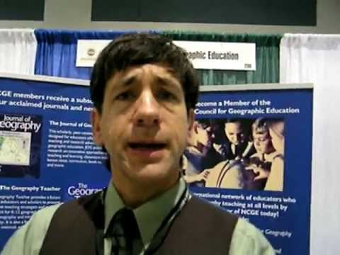 National Council for Geographic Education exhibit at NAAEE Conference