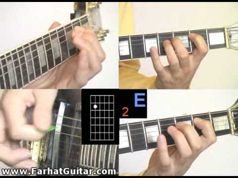 12 Bar Blues Guitar lesson example 5 www.FarhatGuitar.com