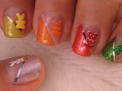 Gummy Bear Nail Art