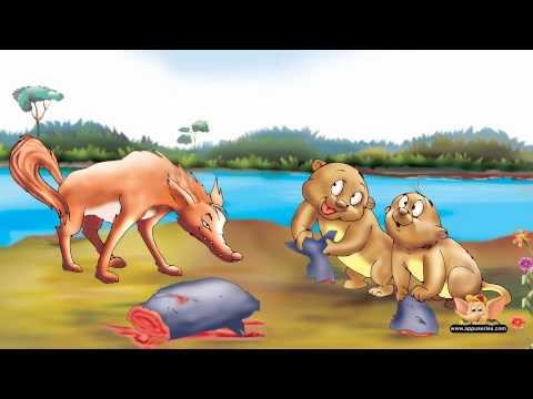 The Otters & The Wolf - One Minute Story