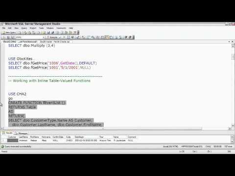 Total Training for Microsoft SQL Server Development P3. Ch5. L2. Understanding Transactional Faults