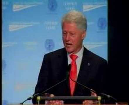 President Clinton at CAP's Common Good Conference Part 2