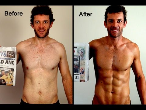 My Before and After Photos of the 6WeekSixPack Xtreme Challenge