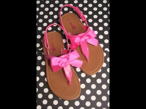 Cute Bow Sandals