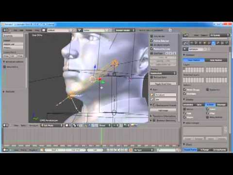 Johnny Blender 2.0 - Part 23 - Rigging the Armature
