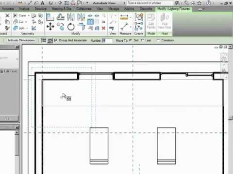 InfiniteSkills Tutorial | Revit Architecture Array | Training Essentials