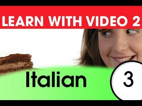 Learn Italian with Video - Top 20 Italian Verbs 1