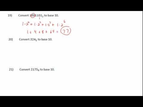 Base Number Basics