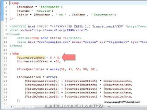Learn PHP Tutorial: 7. Operators