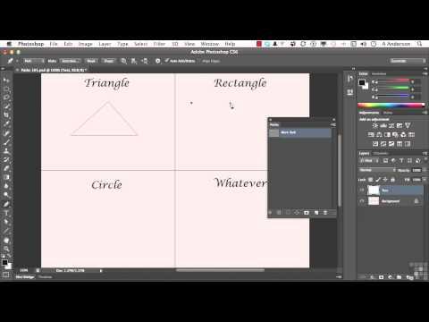 Adobe Photoshop CS6 Tutorial | Using the Pen Tool | InfiniteSkills