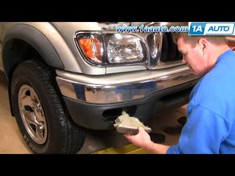 How To Install Replace Bumper Signal Lights Toyota Tacoma 01-04 1AAuto.com