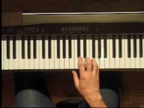 Piano Lesson - Five Finger pattern songs in C position