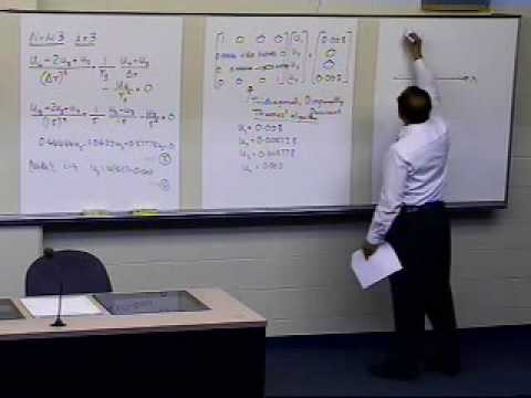 Finite Difference Method for Solving ODEs: Example: Part 2 of 2