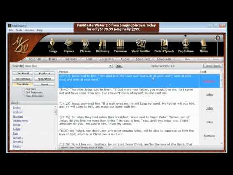 MasterWriter 2.0 - How to Write a Song and Songwriting Tips