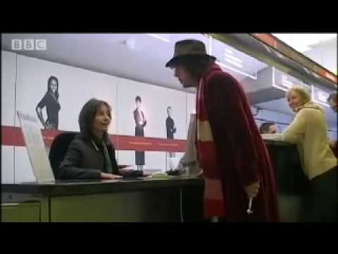 Tom Baker Doctor Who Eurostar spoof - Dead Ringers - BBC comedy impressions
