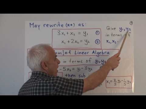 WildLinAlg1d: Introduction to Linear Algebra (cont.)