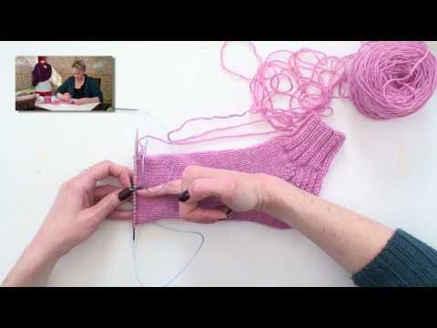 Learn to Knit Magic Loop Socks - Part 5