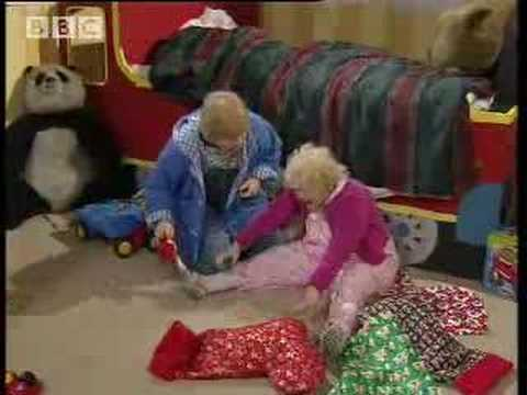 Lulu's stair accident - Harry Enfield - BBC comedy