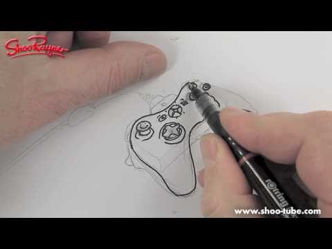 How to draw an XBOX 360 controller