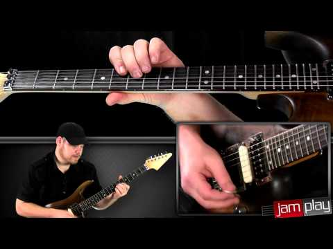 Megadeth - Hangar 18 Guitar Lesson Snippet