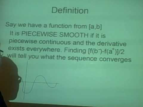 Fourier Series- Piecewise