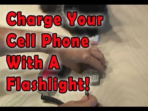 Hack a Flashlight to power your...