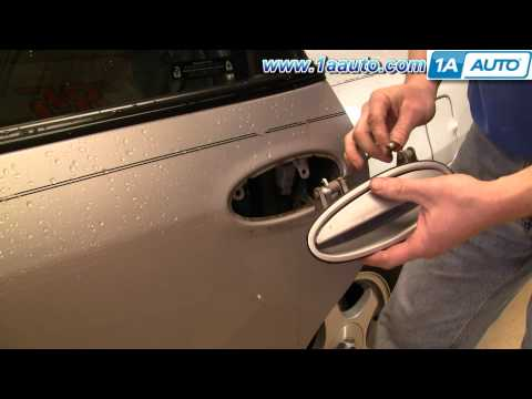 How To Install Repair Replace Broken Rear Door Handle chevy Impala 00-05 1AAuto.com
