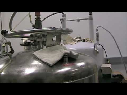 NMR - Filling a New Spectrometer with Liquid Helium and Nitrogen