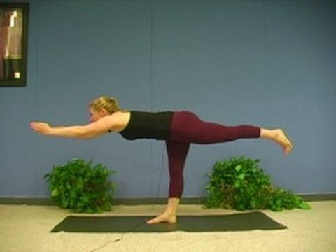 Yoga Poses w/ Sonja 4, Warrior 3 Asana  Virabhadrasana Yoga for Beginners