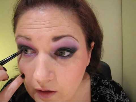 Smokey Eyes with Color - Pink & Violet