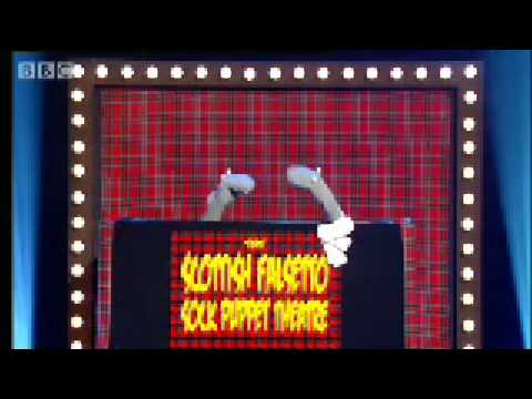 Scottish Falsetto Sock Puppet Theatre - Comedy Shuffle - BBC