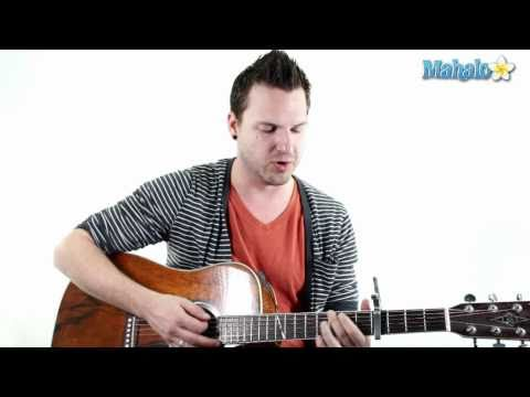 "How to Play ""Thank You"" by Dido on Guitar"