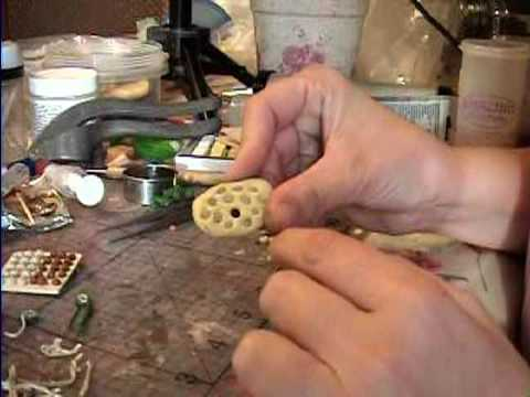 How to Make Truffles (miniature) in Polymer Clay by Garden of Imagination