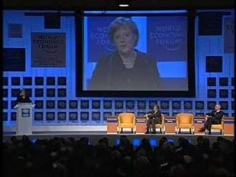 Davos Annual Meeting 2006 - Angela Merkel (German)