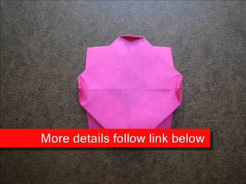 How to Fold Origami Rose - OrigamiInstruction.com