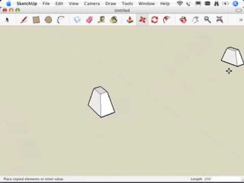 SketchUp: Moving and copying like a champ, Part II