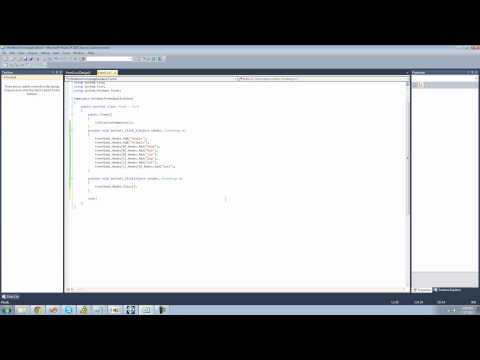 C# Beginners Tutorial - 100 - TreeView pt 2