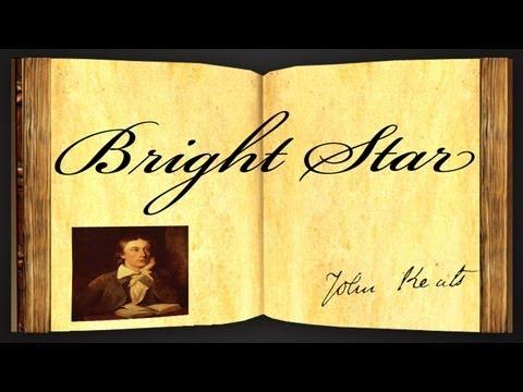 Bright Star by John Keats - Poetry Reading