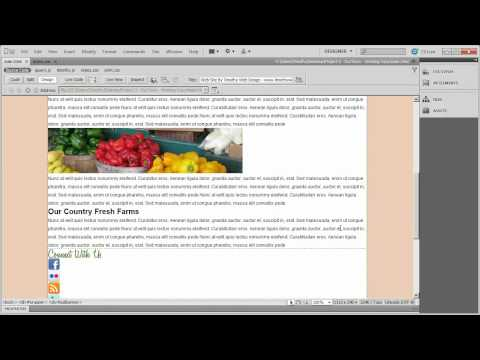 6 - Dreamweaver Project 2 - OurTown Country Market.mp4