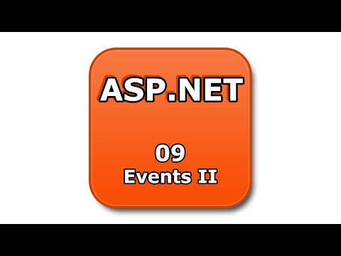 ASP.NET Tutorial - 09 - Events II