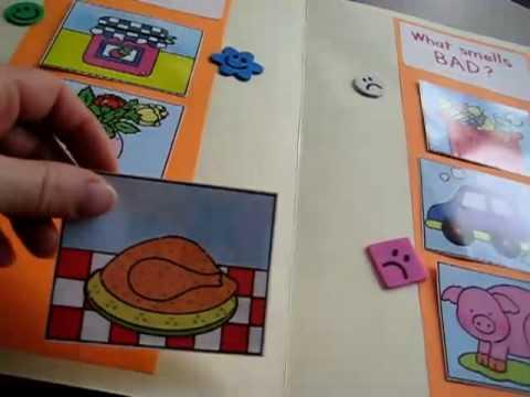 Toddler-Social Studies. Smells file folder