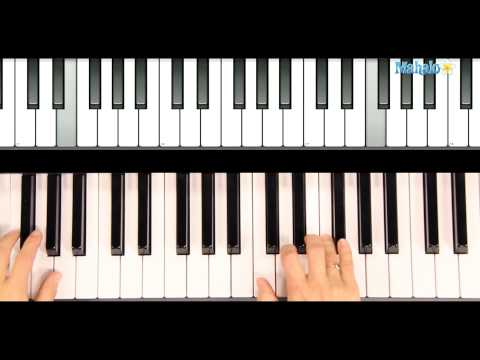 How to Play Santa Baby on The Piano